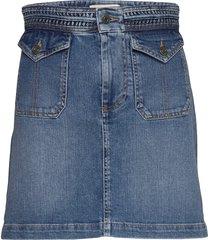 naoto kort kjol blå vanessa bruno