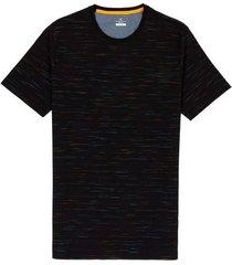 camiseta con textura cuello redondo hombre 02696