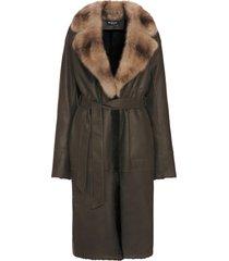 kiton coat lambskin