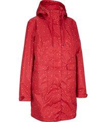 giacca moderna 3 in 1 con gilet trapuntato (rosso) - bpc bonprix collection