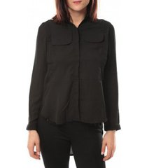 overhemd by la vitrine chemise eloise 285 noir