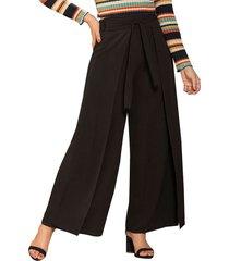 envío gratis pantalon bibiana negro  para mujer croydon