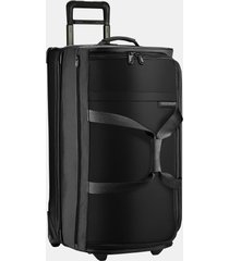briggs & riley large baseline 29-inch rolling duffle bag - black