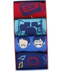 calcetín algodón h c 4pack rock multicolor hush puppies