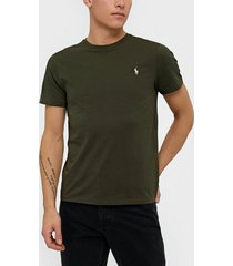 polo ralph lauren short sleeve t-shirt t-shirts & linnen green