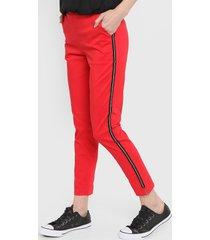 pantalón rojo kaba line zeta