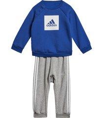 trainingspak adidas 3-stripes fleece joggingpak