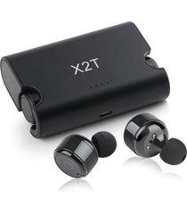audifonos bluetooth inalámbricos sport x2t cargador portatil
