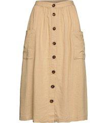 sc-ina lång kjol beige soyaconcept