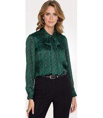 blouse mona groen
