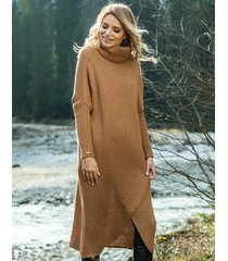 sweter maxi