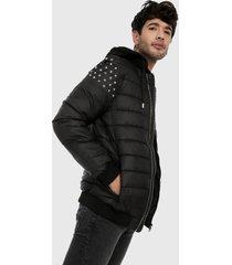 chaqueta negro-plateado urban tokyo