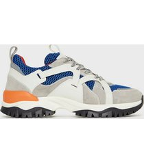 selected homme slhadam trail trainer w sneakers blå