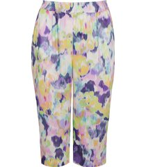 river island womens plus pink tie dye belted culottes