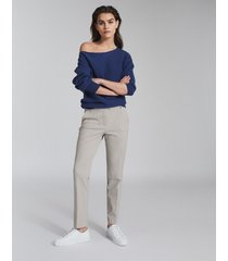 reiss joanne - slim fit tailored pants in, womens, size 14