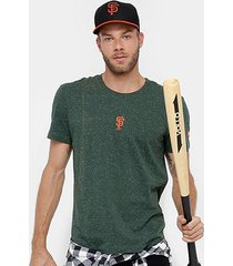 camiseta mlb san francisco giants new era mini camu masculina