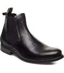 clipper shoes chelsea boots svart sneaky steve