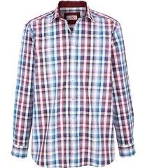 overhemd roger kent bordeaux::blauw::paars