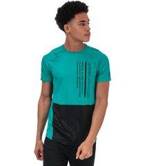 mens ua mk-1 colourblock t-shirt