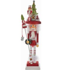 kurt adler 18-inch hollywood christmas tree hat nutcracker