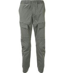 sophnet. slip-on slim-fit trousers - grey