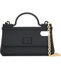 dolce & gabbana handbag phonecase - black