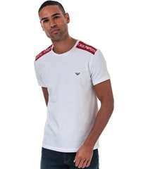 emporio armani t-shirt taped - wit
