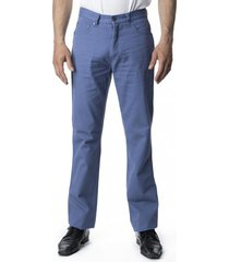 pantalón canvas 5 bolsillos azul kotting