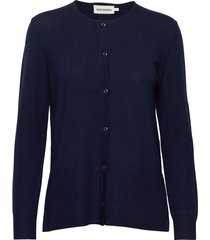 vilske knit cardigan gebreide trui cardigan blauw marimekko