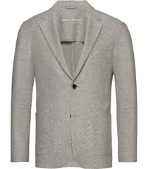 bs piemonte tailored blazer kavaj grå bruun & stengade
