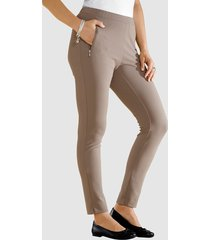 7/8-broek m. collection taupe