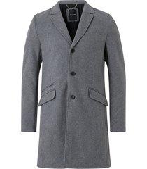 rock onsjulian solid wool coat otw