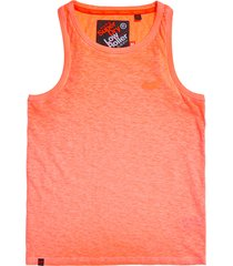 oranje superdry m60105rt zw6 tank top