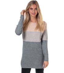 womens lillo colourblock jumper dress