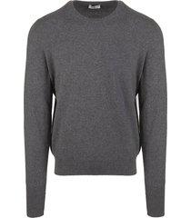 fedeli stone grey arg vintage man pullover