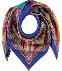 women's kaleidoscope square scarf