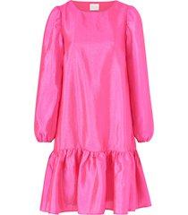 klänning virichter l/s flounce dress