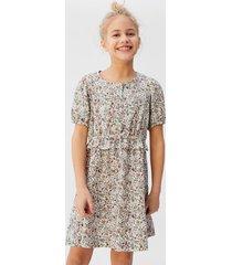soepelvallende jurk met bloemetjesprint