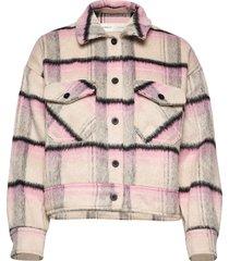 eloiw jacket wollen jack jack roze inwear