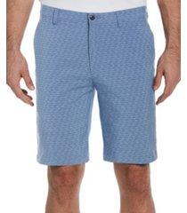 pga tour men's herringbone print shorts