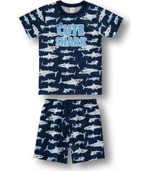 pijama marisol - 10316490i azul - kanui