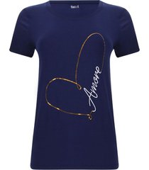 camiseta lentejuelas amore