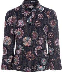 rosy jacket bouvier kaart, gewatteerde jas