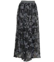 tiffany tiffany silkeskjol grå kamouflage, 16220