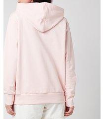 ps paul smith women's zebra hoodie - pink - l