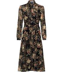 fiona dress knälång klänning multi/mönstrad ida sjöstedt
