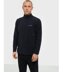 columbia klamath range ii half zip tröjor black