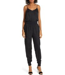 women's cinq a sept amia twill jumpsuit