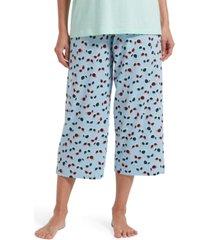 hue blinglasses women's capri pajama pant