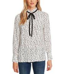 cece ditsy-print blouse